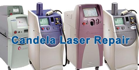 candela laser repair