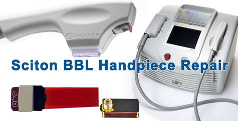 sciton bbl handpiece repair