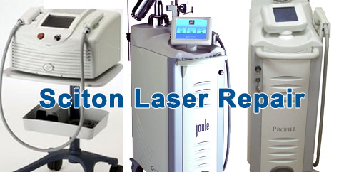 sciton laser repair