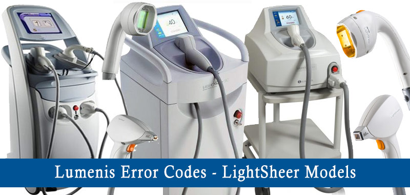 lumenis laser error codes